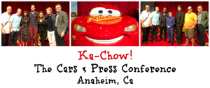 Ka-Chow! Cars 3 Press Conference