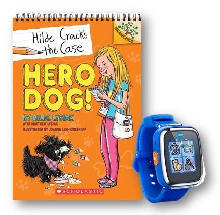 Hilde Cracks the Case Hero Dog giveaway