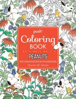 snoopy plush book and peanuts themed adult coloring book giveaway