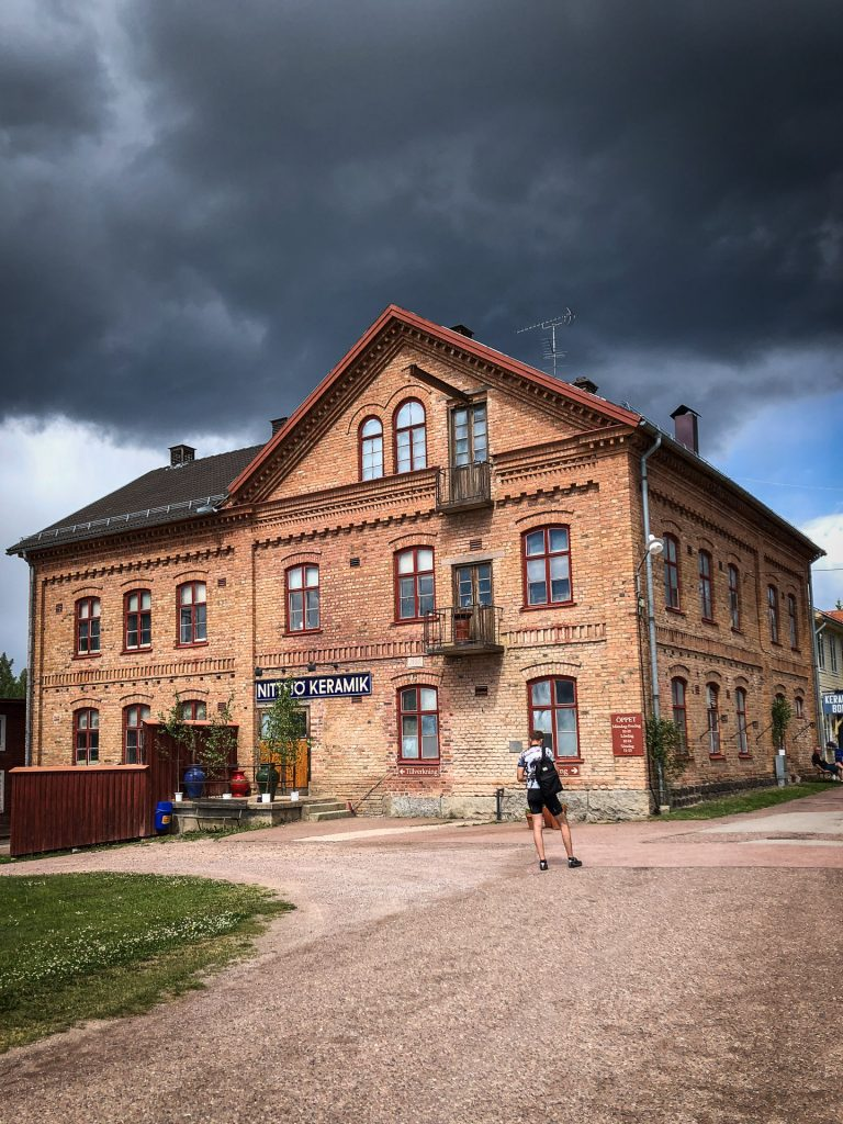 Nittsjö Keramik Dalhallarundan biking bike rent Dalarna Sweden Rättvik