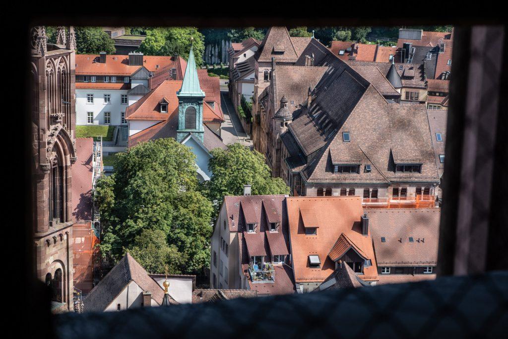 Freiburg im Breisgau , Tyskland Germany, Baden Württemberg, view, houses, utsikt, hus