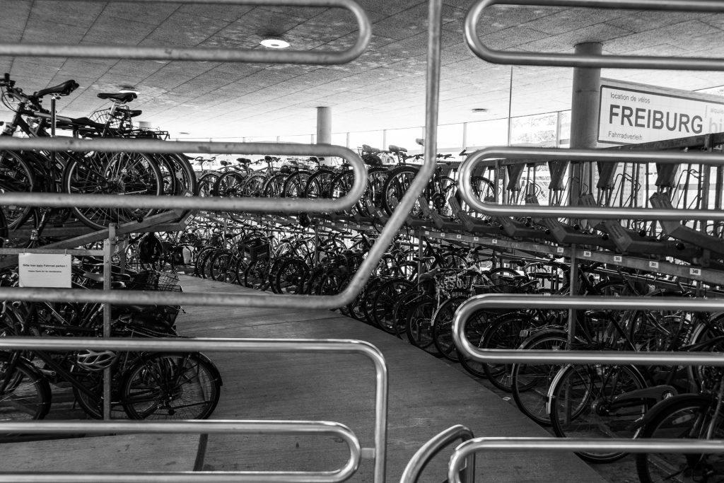 Freiburg im Breisgau , Tyskland Germany, Baden Württemberg, bikes, sykler