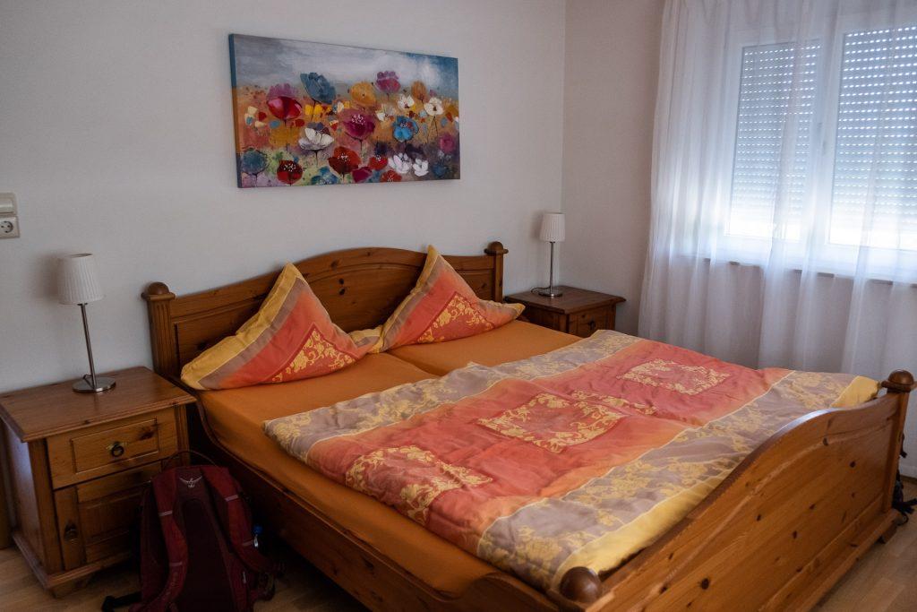 seng, rom, soverom, Kaiserstuhl, BIschoffingen, Tyskland