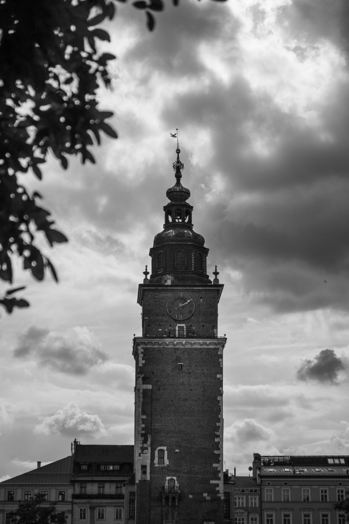 Krakow, Poland, street, building, church,