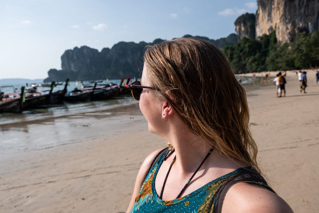Thailand, Buddha, Railay Beach, Krabi, Asia, beach, solo travel