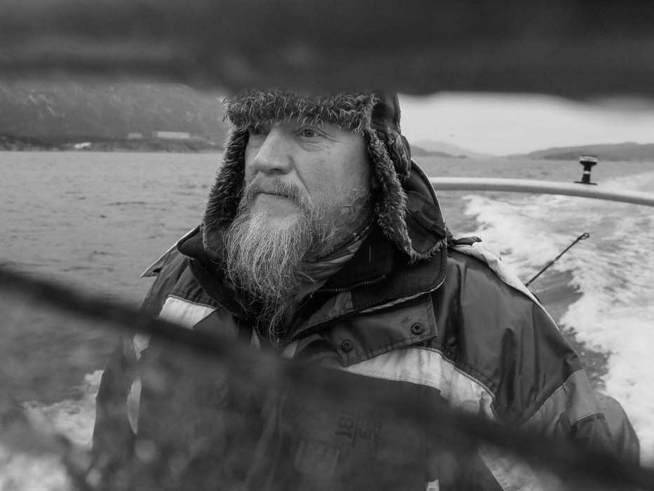 Flatanger, Norway, Eagle, sea, sky, nature, Eagle man, portraiture, boat, man