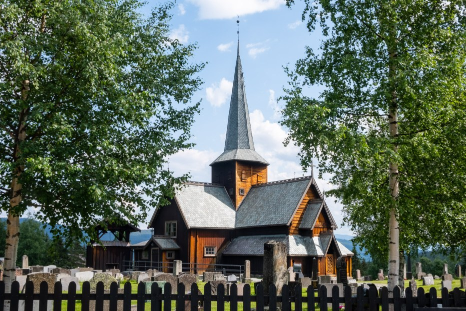 Hedalen, stave church, Norway