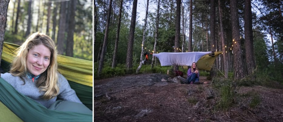 Camping in Oslomarka Norway