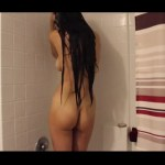 Gorgeous Full Nude Hottie Hot Shower Pics