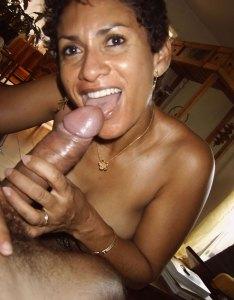 bhabhi licking big cock