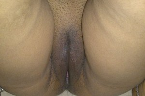 Desi Indian Aunty hot trimmed pussy