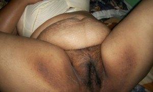 Fat aunty Deai hot bush