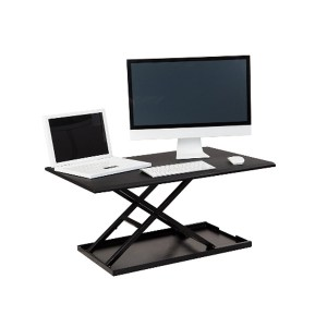 raisable desk - raisable desktop - computer monitor risers