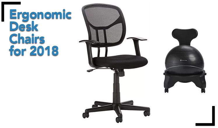 Best Ergonomic Office Chair 2017: Top Desk Chairs For 2018 - Desk Chair Reviews