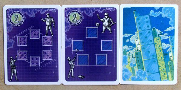 Blueprints - karty