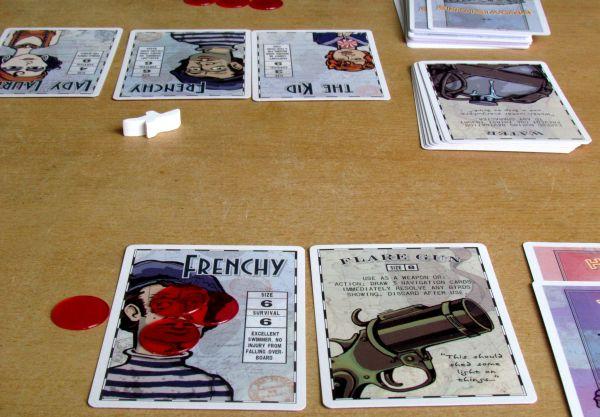 Lifeboat - rozehraná hra