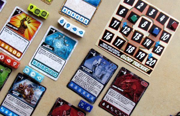 Quarriors - rozehraná hra