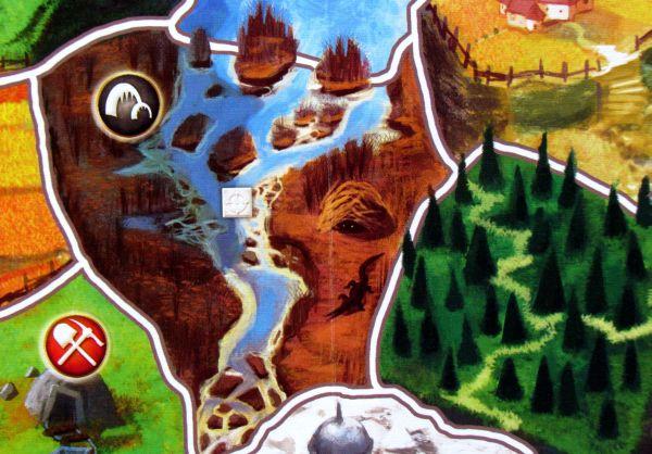 Small World - detail herního plánu