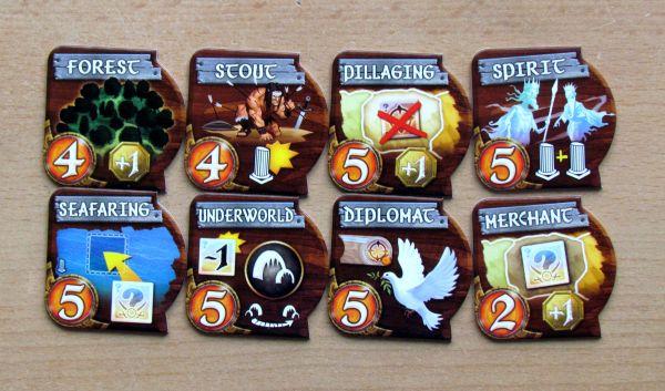 Small World - kartičky schopností
