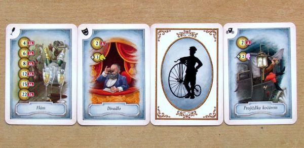 Dědictví - karty