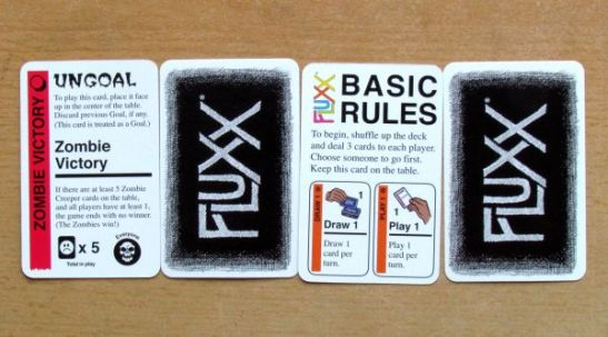 Zombie Fluxx - karty