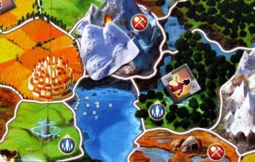 Small World - připravená hra