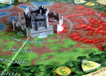 Castle Panic - připravená hra