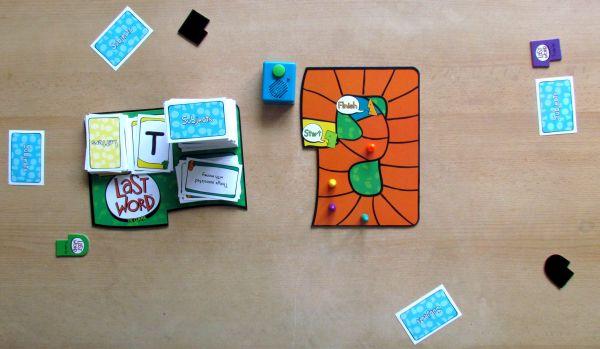 Last Word Game - rozehraná hra