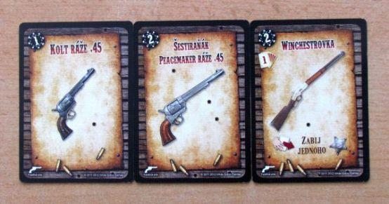 Revolver - karty