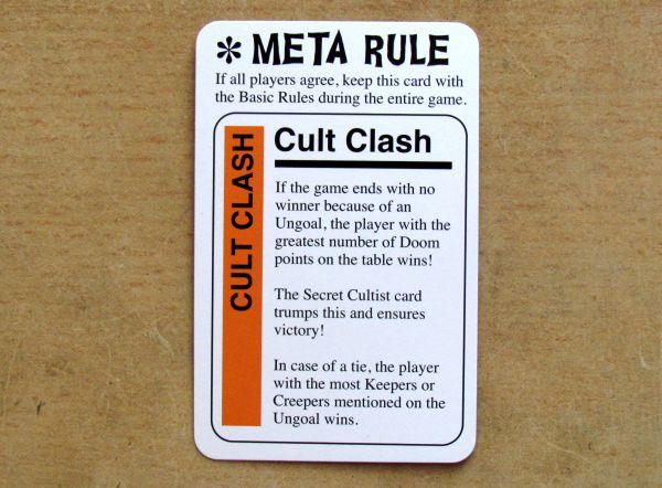 Cthulhu Fluxx - meta rule