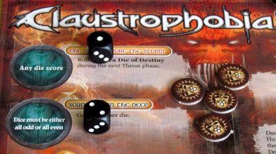 Claustrophobia - rozehraná hra