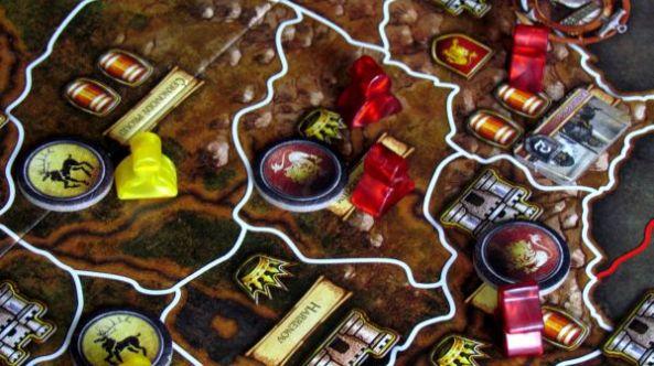 Hra o Trůny - rozehraná hra