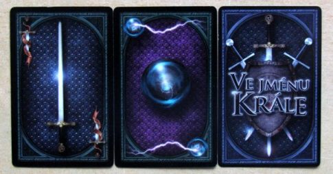 Ve jménu krále - karty