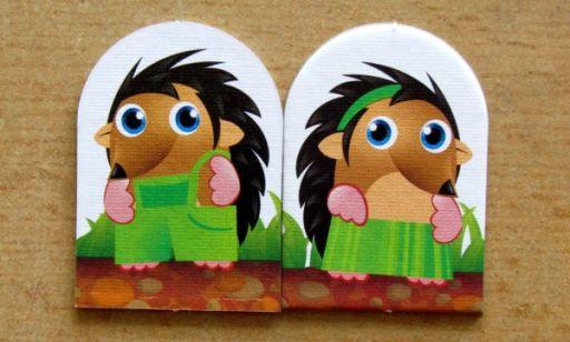 Ježci - figurky ježků