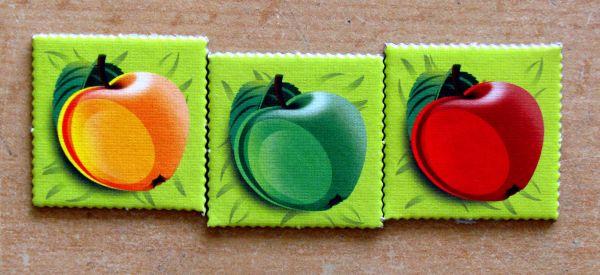 Ježci - dílky ovoce