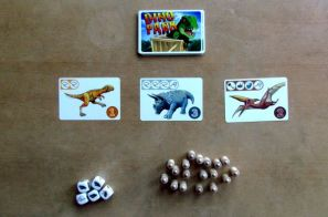 Dino Park - připravená hra