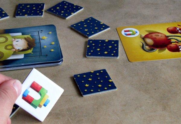 Příšerky ze skříně - rozehraná hra
