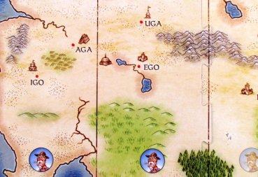 UGO! - detail herního plánu