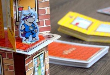 Rhino Hero - rozehraná hra