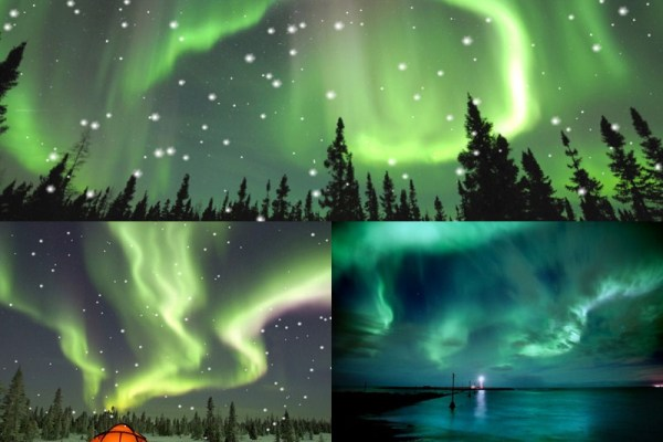 Aurora Borealis Animated Wallpaper Preview