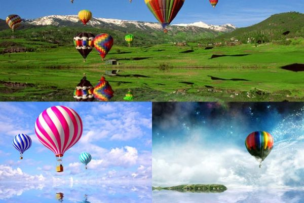 Ballooning Animated Wallpaper Preview