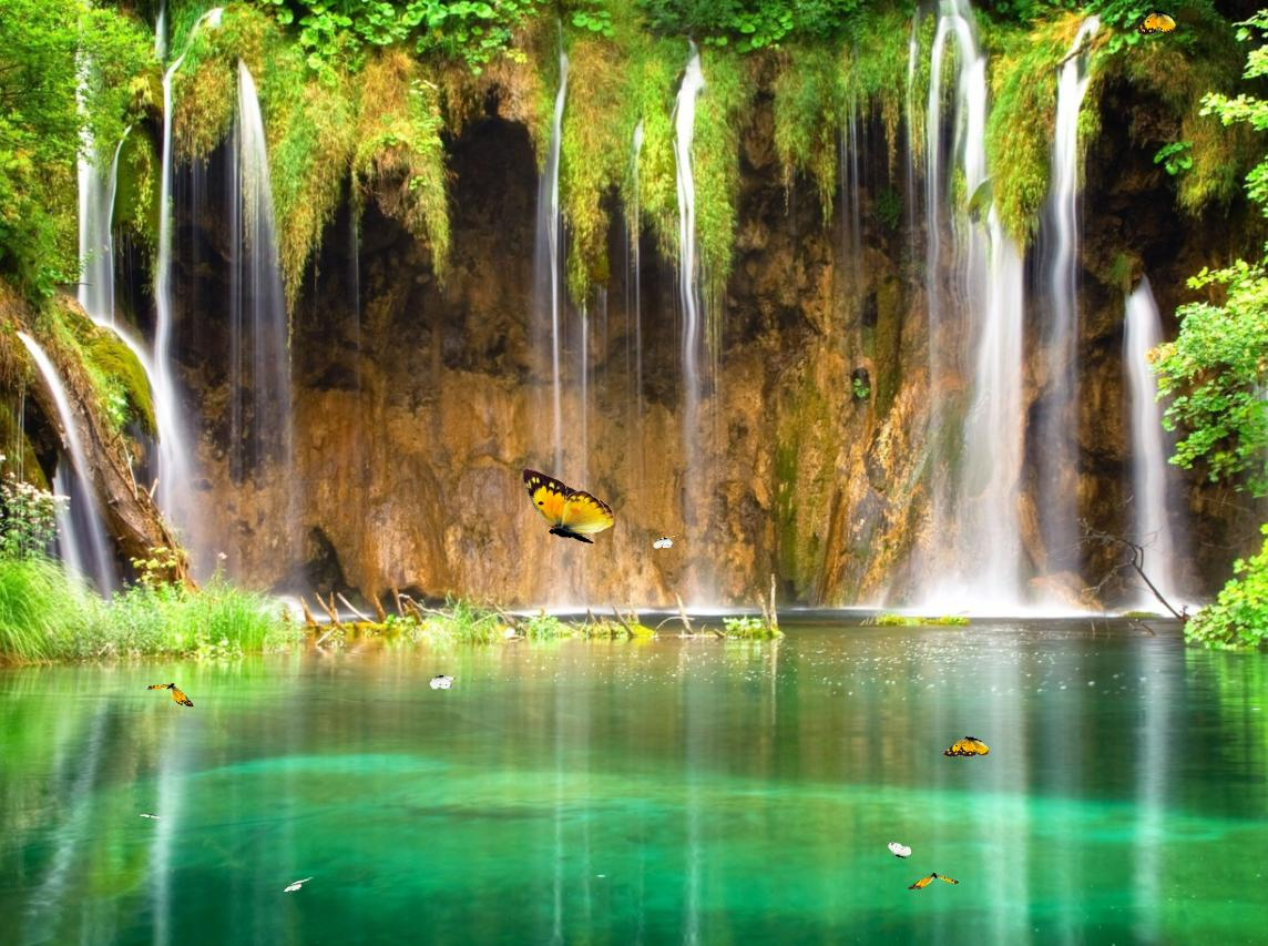Animated Waterfall Wallpaper for Windows 7
