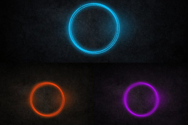 Color Ring Animated Wallpaper Preview