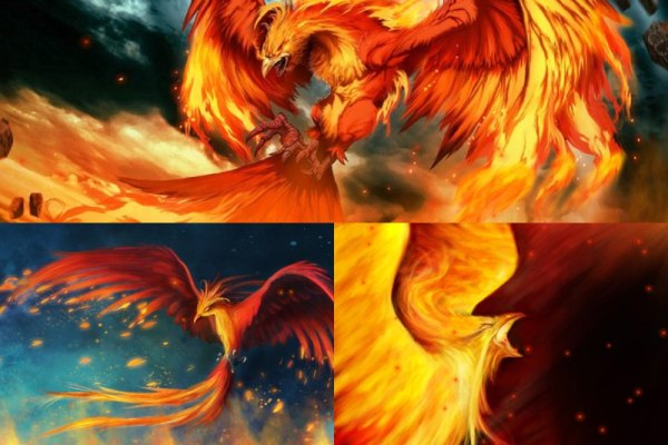 Fire Phoenix Animated Wallpaper Preview