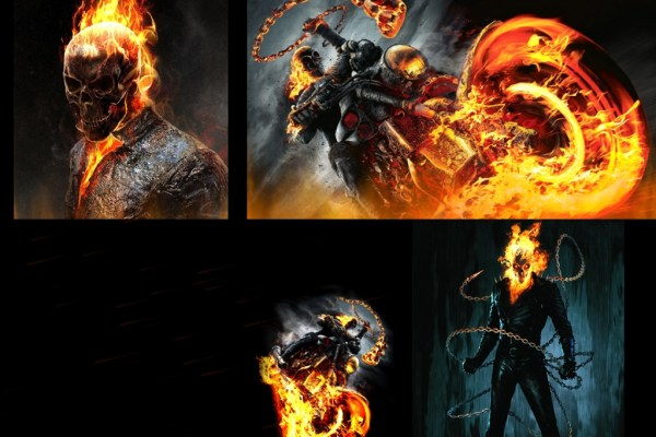 Ghost Rider Animated Wallpaper Preview