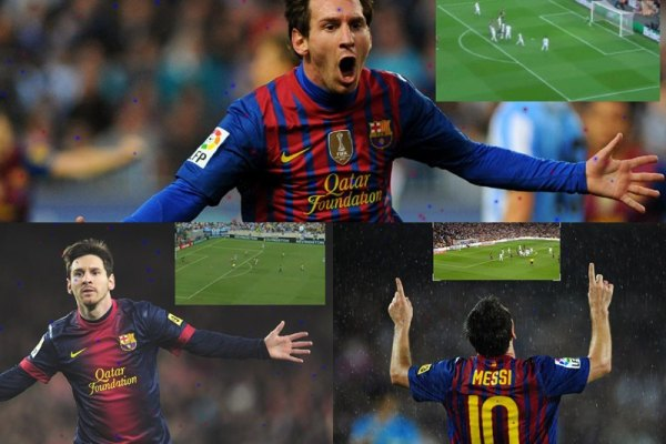 Messi Animated Wallpaper Preview