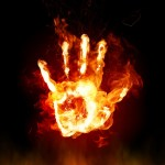 Fire Hands Animated Wallpaper