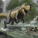 Prehistoric Monsters Animated Wallpaper