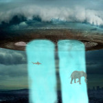 UFO Alien Animated Wallpaper