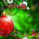 Happy Christmas Animated Wallpaper